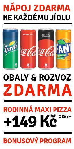 Pepsi ZDARMA